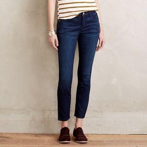 Pilcro & the Letterpress Stet Skinny Ankle Jeans